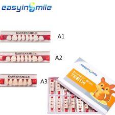 Easyinsmile Acrylic Resin Teeth Full Setanteriorposterior Diy Denture A1a2a3