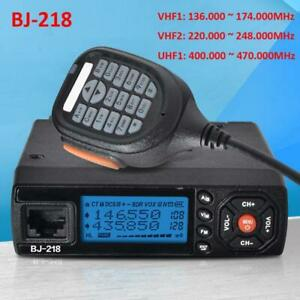 BJ-218-Mini-Car-Radio-movil-Walkie-Talkie-UHF-VHF-136-174Mhz-400-470Mhz-25W