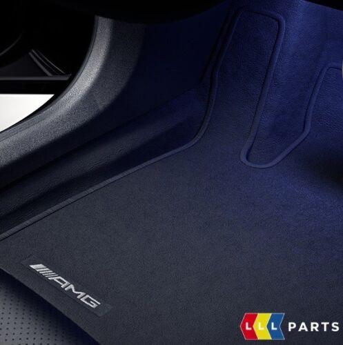 NEW Genuine Mercedes Benz MB E W213 S213 AMG noir velours Set Tapis RHD
