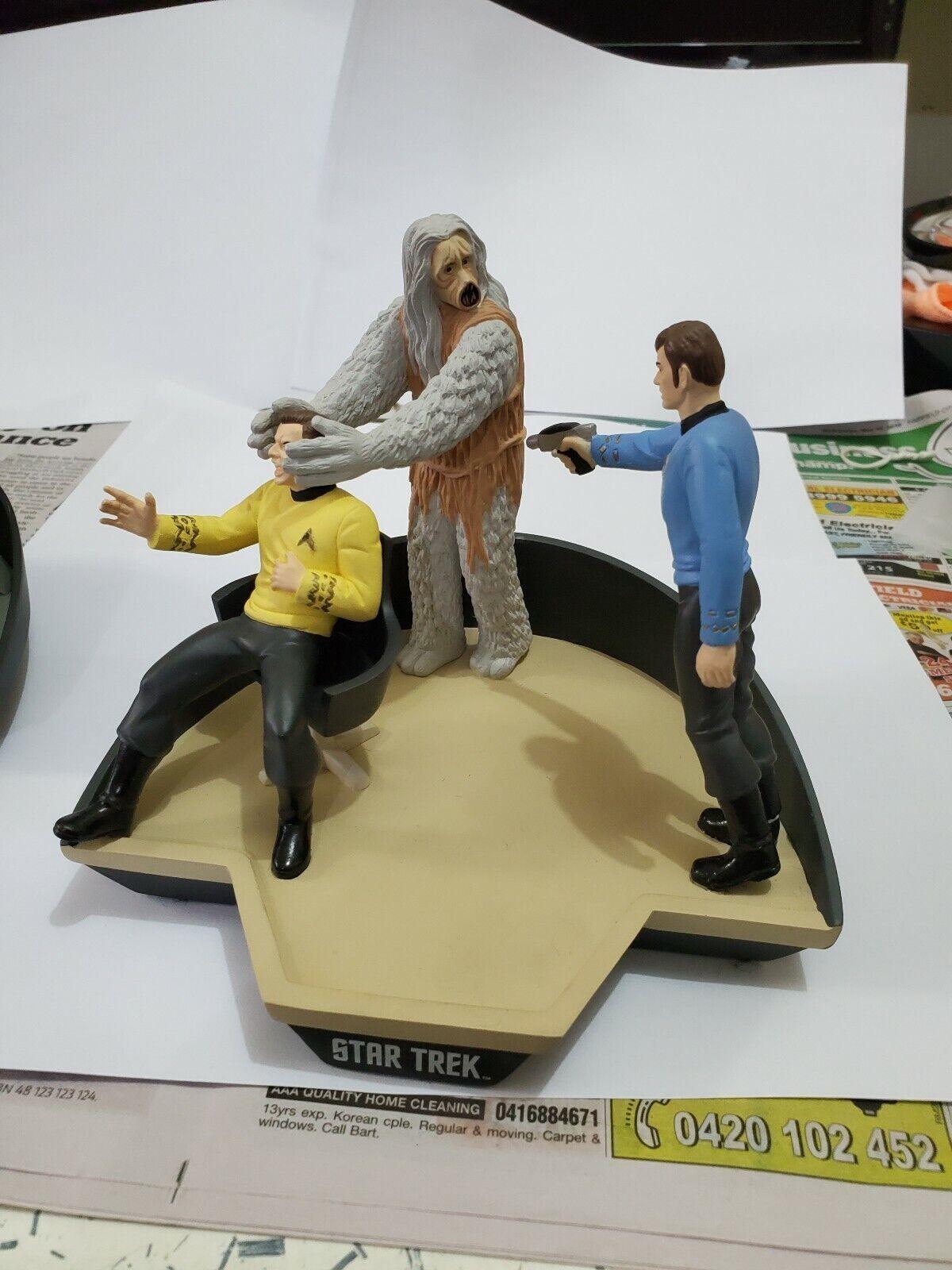 Star Trek Diorama M-113 Salt Creature by Applause Kirk  & McCoy Ltd Ed.  économiser jusqu'à 50%