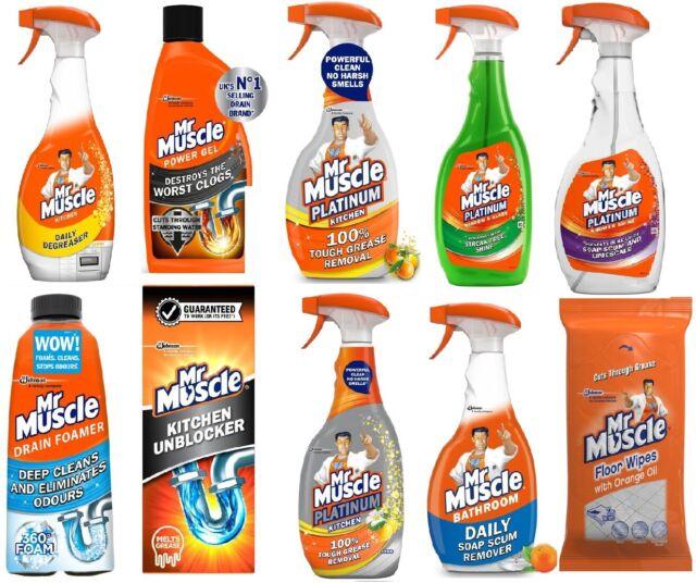 Mr Kitchen Worst.Mr Muscle Cleaner Kitchen Sink Oven Bathroom Toilet Shower Window Glass
