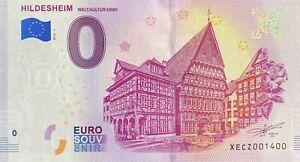 BILLET-0-EURO-HILDESHEIM-ALLEMAGNE-2018-NUMERO-1400