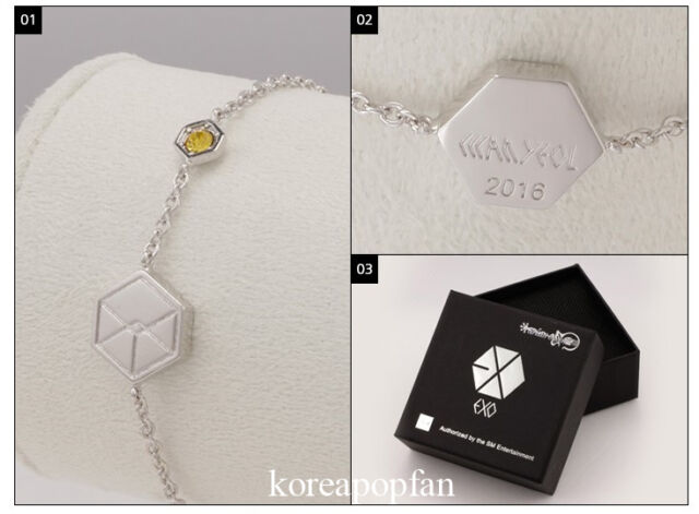 CHANYEOL CHAN YEOL EXO FROM PLANET EXODUS 2016 BRACELET KPOP NEW love me right