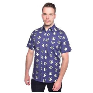 Badger Imprimer Shirt By Run And Fly Rétro Xxl Bnwt/neuf-afficher Le Titre D'origine Prix ​​De Vente Directe D'Usine
