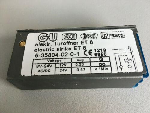 6-35804-02-0-1 GU scu électro-Effection et8 AE