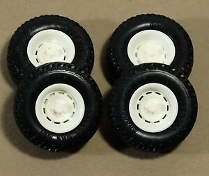 Amt mpc chevy truck silverado rally style stock resin rims 1 25 scale