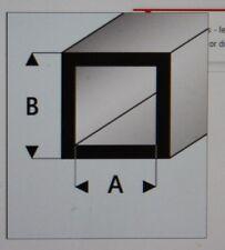 "MAQUETT 420-53 White Styrene square tube 4mm x 3mm / 0.156""x 0.118"" x 330mm X5"