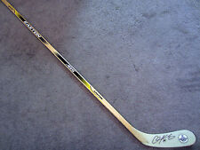 CHRIS KUNITZ Pittsburgh Penguins Autographed SIGNED Hockey Stick COA Stanley Cup