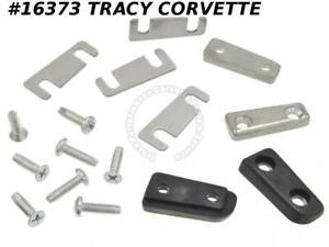 63-67 Corvette Door Alignment Wedge NEW With Screws 46837