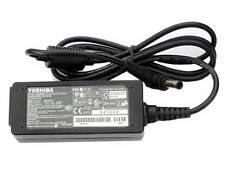 Chargeur D'ORIGINE TOSHIBA mini NB205-N311/W Adaptateur