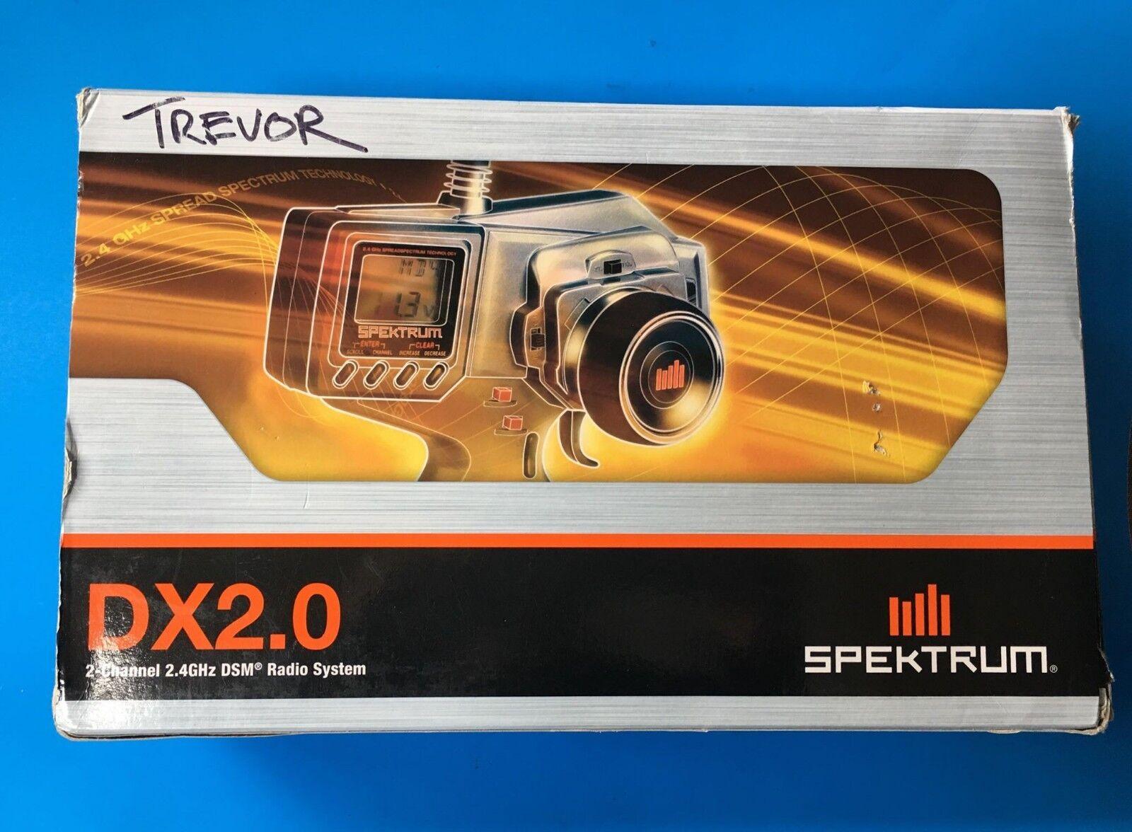 DX2.0 DSM 2CH Radio with 3Ch Rx - No Servos
