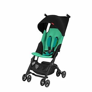 GB-Pockit-Lightweight-Ultra-Compact-Fold-Travel-Stroller-Laguna-Blue-Open-Box