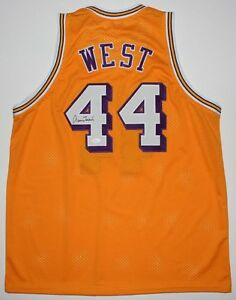 b777f1365 Image is loading Jerry-West-Signed-Lakers-Jersey-JSA-COA