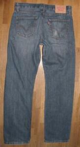 """Wow Cool Levi `S 751 D' Homme Jeans / Levis Blue-Jeans en Bleu En W32 """" / L32 """""""