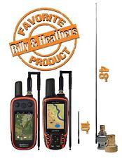 Super Extendable Foldable Handheld Antenna Garmin Alpha 100 Astro 320 2pc QC