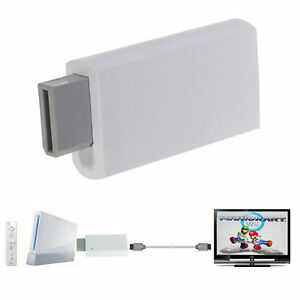 Other Computer Cables Computers/tablets & Networking Responsible Wii To Hdmi 1080p Upscaling Converter Adapter With 3.5mm Audio Output Co In Many Styles