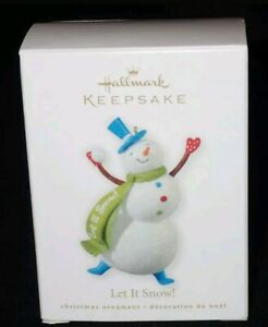 Hallmark-Keepsake-2010-Let-It-Snow-Christmas-Ornament-QXG7376-NEW-IN-BOX