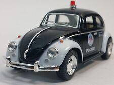Kinsmart - VOLKSWAGEN Classical 1967 Beetle Police Die Cast Car 1 32 - G Scale