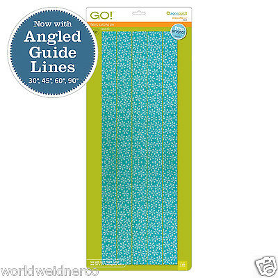"AccuQuilt GO! Strip Cutter-1 1/2"" Fabric Cutting Die 55024 Quilting Applique"