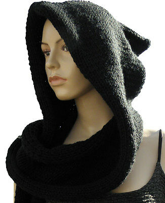 Hooded Circle Scarf Knitting Pattern : Post Apocalyptic collection on eBay!