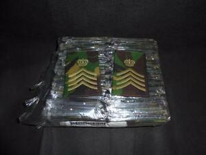Wholesale-50-Pairs-Army-DPM-Rank-Slides-Drum-Major-or-WO1-Conductor-Available