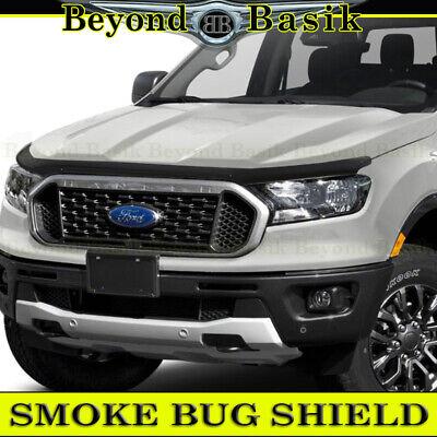 Bug Shield Hood Deflector Guard Bonnet Protector for Ford Ranger 3 2015-2020