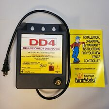 American Farm Works Dd4 Fence Charger Deluxe Direct Discharge