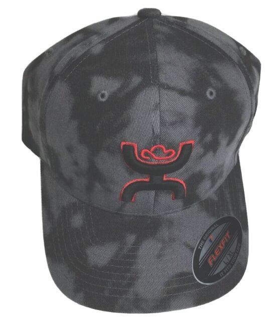 "HOOey Hat Baseball Cap /""Chris Kyle/"" Mesh Back Flexfit Camo Black CK017"