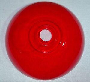 Lampenschirm-30cm-Ersatzschirm-Acryl-E27-Fassung-rot