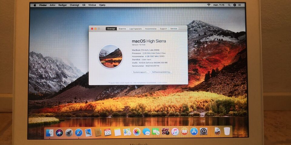 MacBook, 6.1, 2.26 GHz