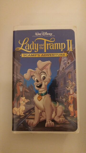 2001 Walt Disney Pictures Presents Lady The Tramp 2 Scamp S Adventure Vhs For Sale Online Ebay