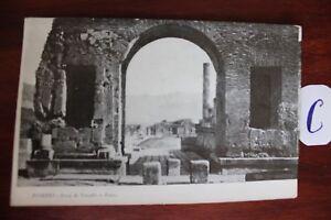 Initiative Carte Postale Vue Carte Italie Pompéi Arco Di Trionfo-afficher Le Titre D'origine Qualité Et Quantité AssuréE