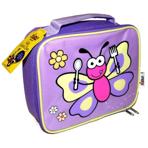 Promo Bugzz Kids Childs Butterfly School Lunch Box Children Insulated Lunch Bag