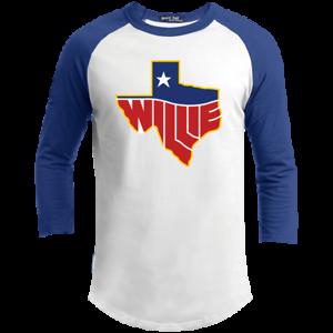 Country Music Texas Map Logo-T200 Sport-tek Sportif T-Shirt Willie Nelson