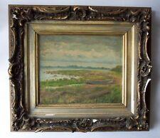SAMUEL WILSON FRAZER 1866-1954 Seascape Oil Painting Signed Listed Twachtman Stu