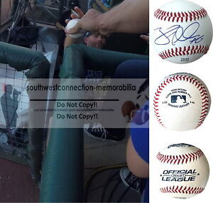 Brad Miller Phillies Signed Autograph Baseball Mariners Cardinals Brewers Proof
