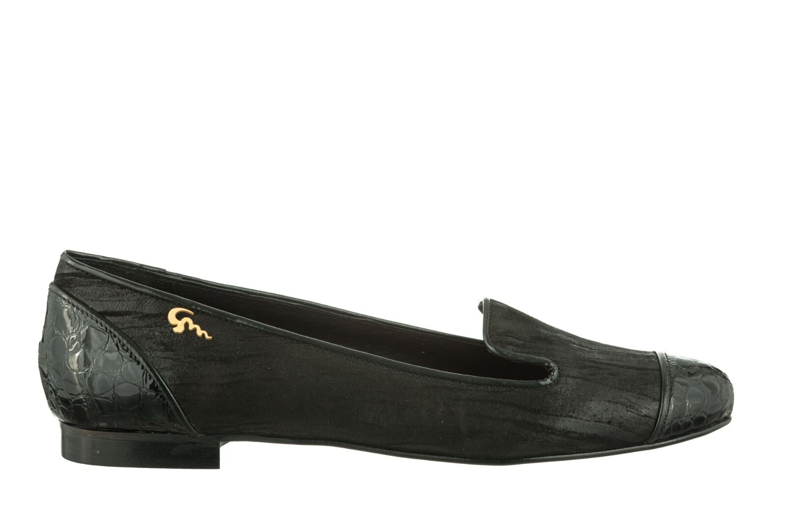 MORI MADE IN ITALY SLIP ON FLATS SCHUHE Schuhe BALLERINA BALLERINA Schuhe LEATHER NERO BLACK 42 8fea27
