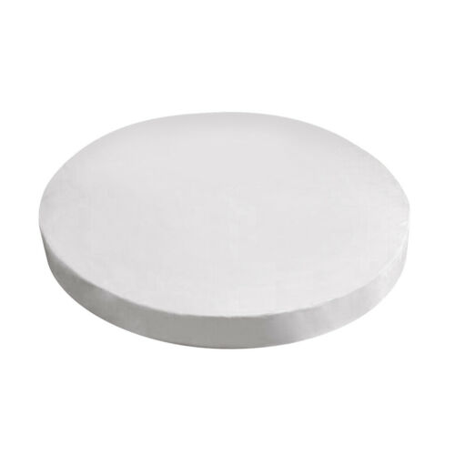 Round Quilted Bed Cover Fitted Sheet Mattress Bed Fitted Cover Bedroom Decor
