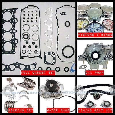96-00 Acura Honda Civic Del Sol 1.6L SOHC D16Y D16Y5 D16Y7 D16Y8 Head Gasket Set