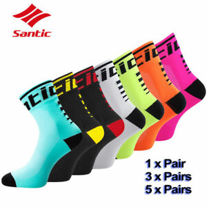 Santic-Cycling-Low-Socks-Anti-sweat-Breathable-Outdoor-Sport-Running-Bicycle-Lot