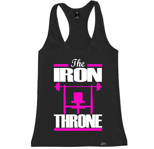SWEAT FOR THE SWEETS WOMEN RACERBACK TANK FITNESS YOGA WORKOUT GYM MOTIVATION