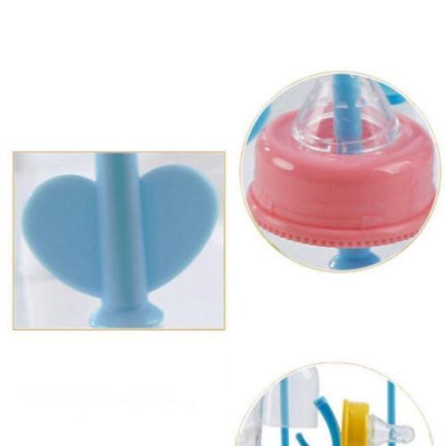 Baby Bottle Drying Rack Pacifier Nipple Drier Cute Tree Shape Cups Holders HY