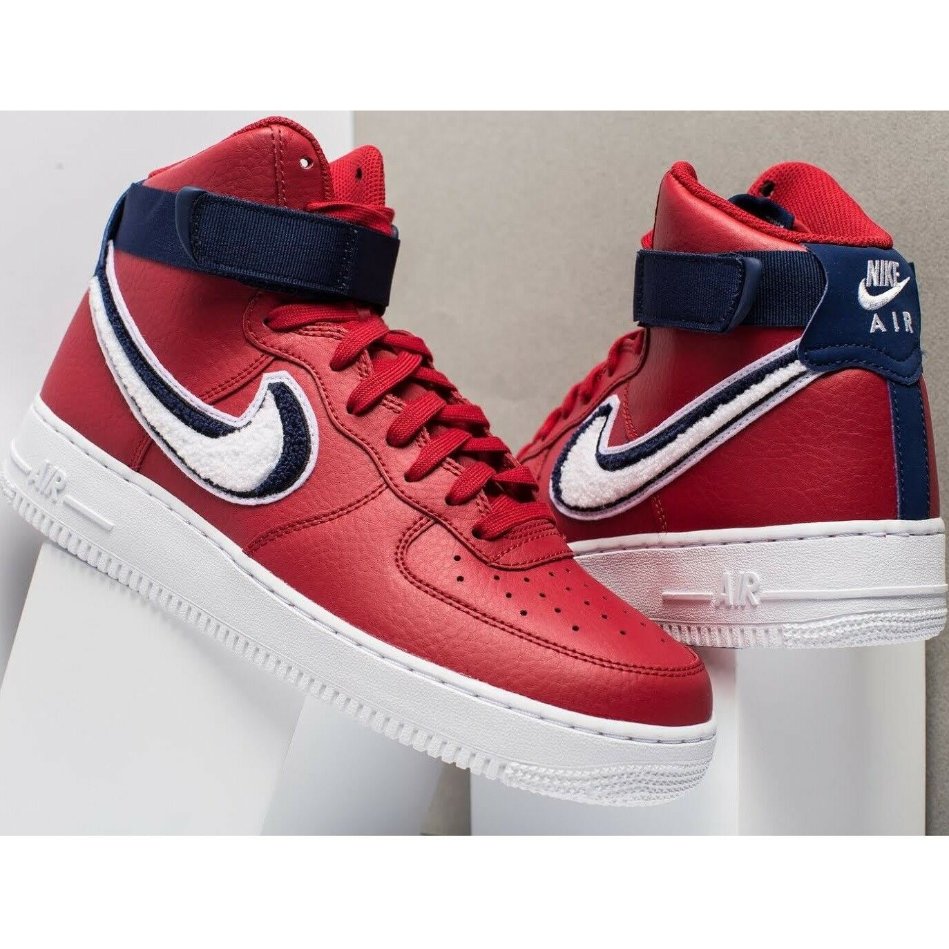 Nike Air Force 1 High 07 Lv8 CHENILLE SWOOSH Men's Shoes Lifestyle Comfy Sneaker