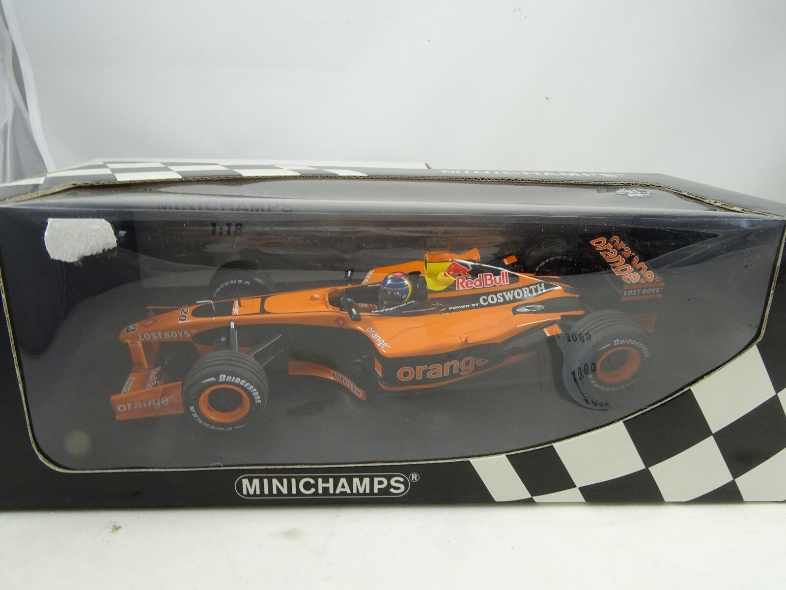 1 18 Minichamps orange Arrows A23 H H.Frentzen - Rarity