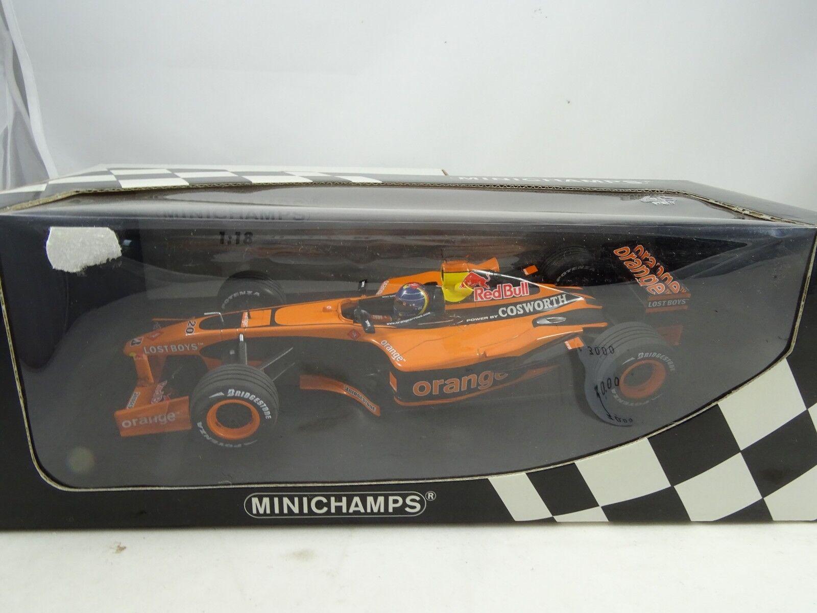 Minichamps 100020180 Naranja Flechas A23 H H. Frentzen - Rareza