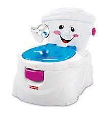SEHR GUT: Fisher Price Baby Gear P4328 Meine erste Toilette (Spanische Version!)