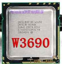 Intel Xeon W3690 3.46GHz Six Core 12m Cache 6.4 GT/s SLBW2 CPU Processor