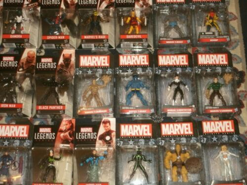 Marvel Legends Action Figures (3.75 Size) Spider-Man, Deadpool, X-Men, Panther