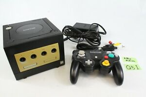 Nintendo Game cube GC Console black Tested working please read japan