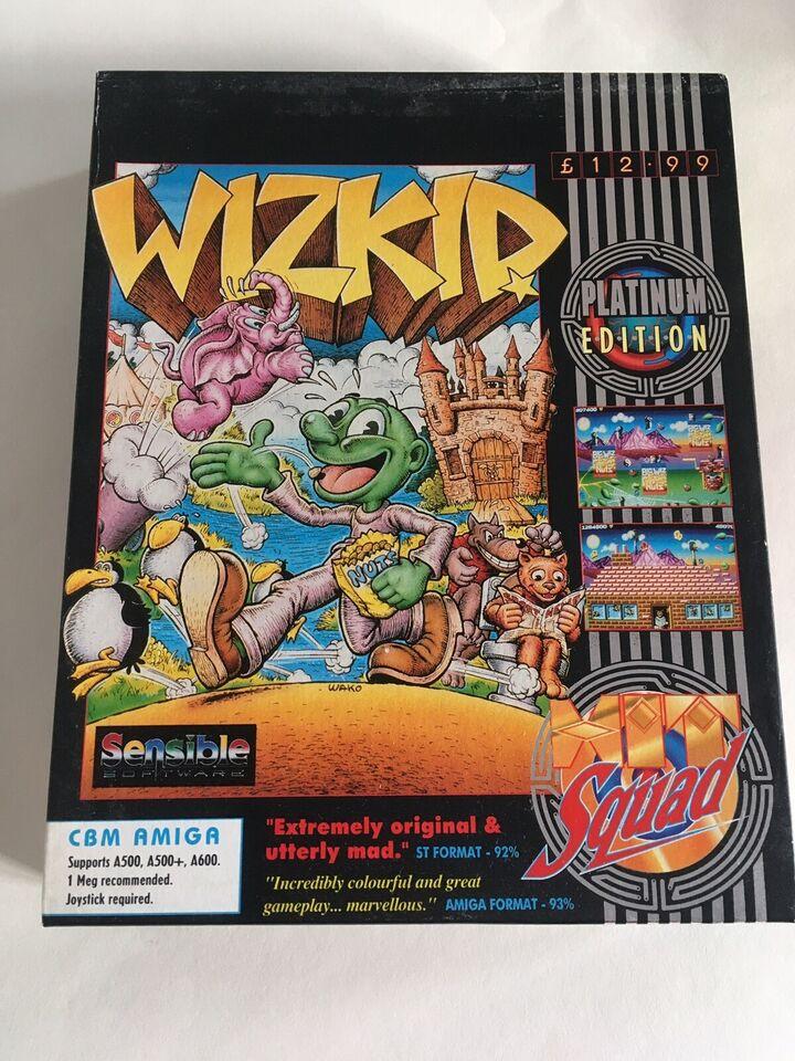 WizKid, Amiga
